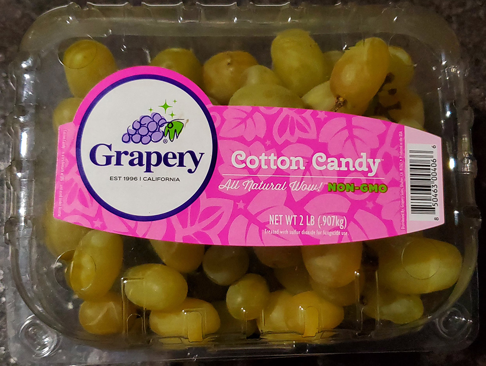 cotton candy grapery grapes