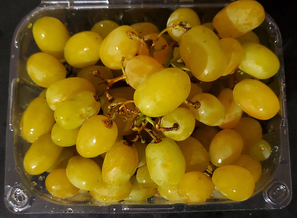 cotton candy green grapes healthy non gmo