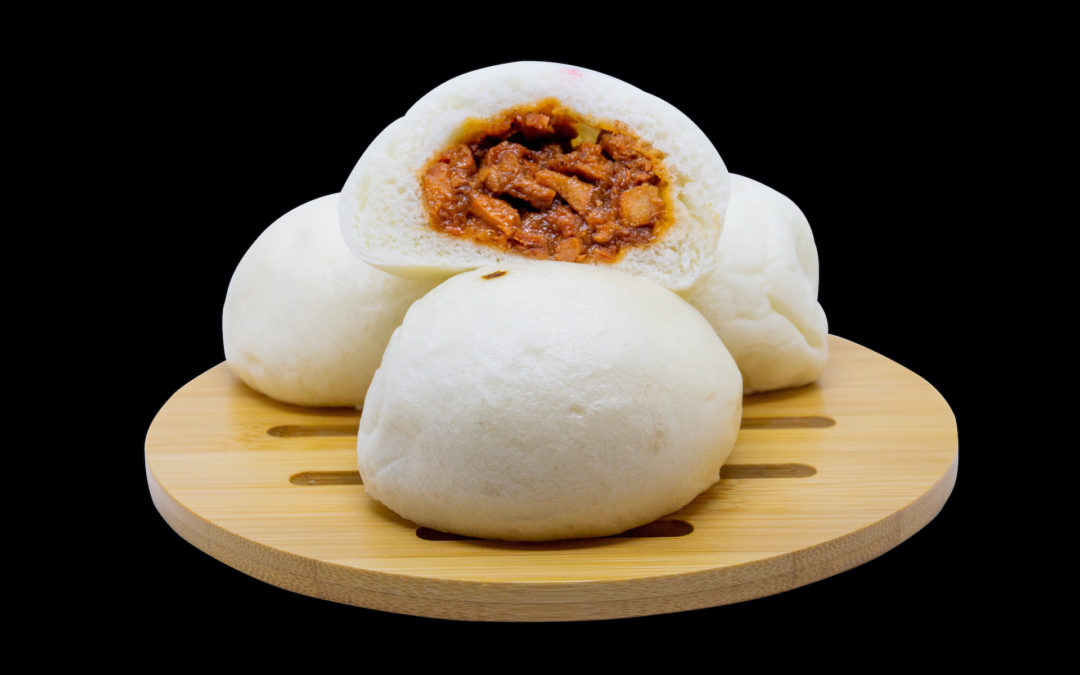 Char Siu Bao: steamy pillowy pork buns