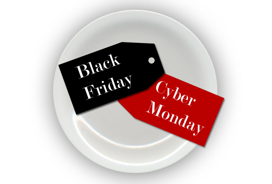 Black Friday Cyber Monday Holiday Foodie Gifts