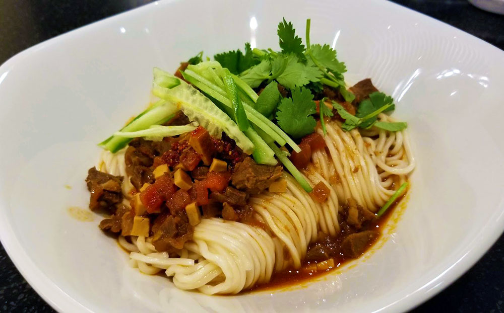 Dan Dan Noodles: entangle your tastebuds in spicy umami