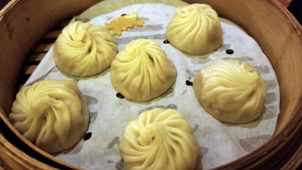xiao long bao soup dumplings steamer