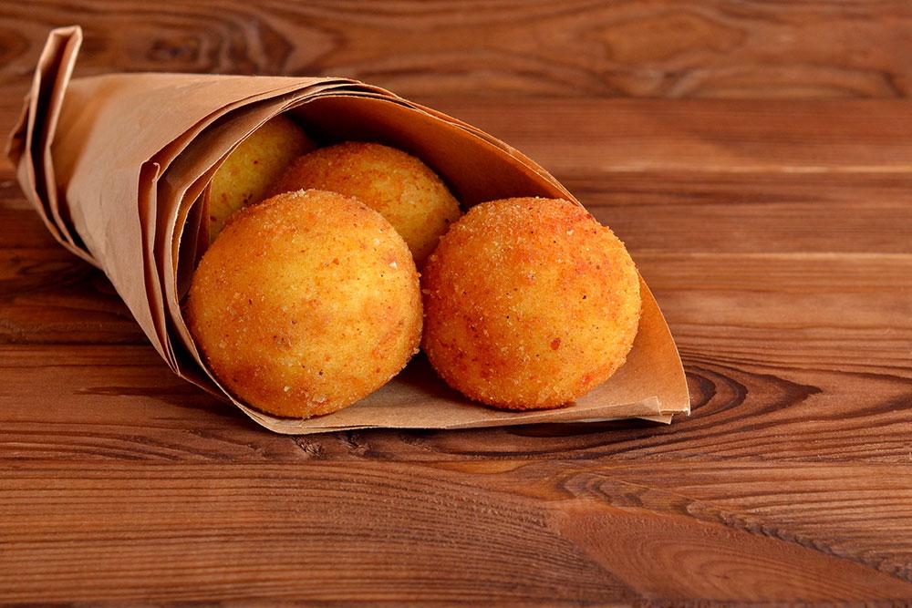 arancini Italian street food