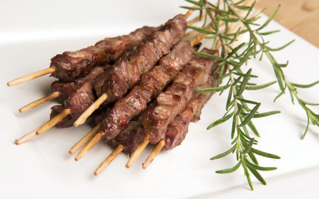 Arrosticini: tender Italian BBQ on a stick