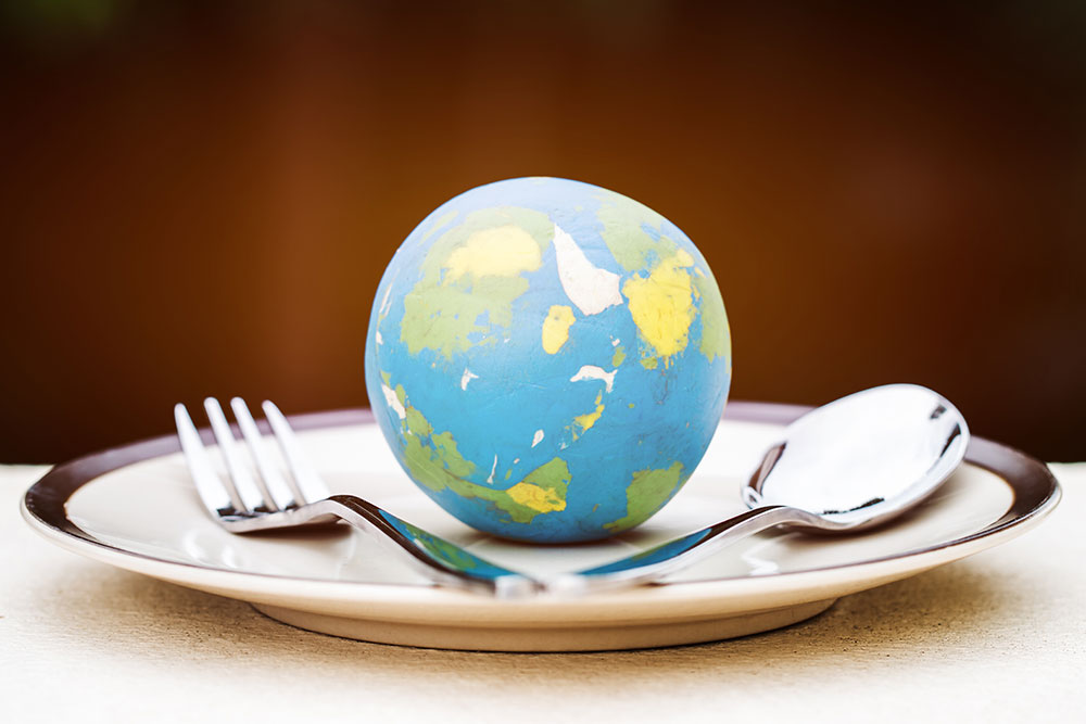 international world global food terms