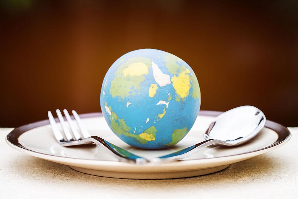 international world global food terms