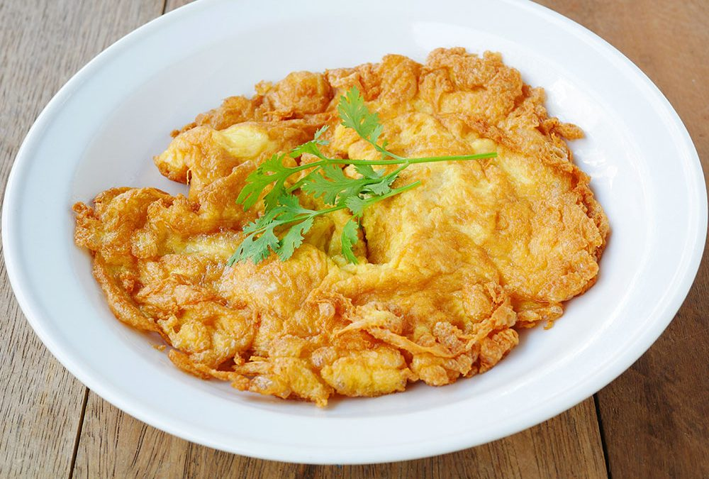 Kai Jeow: the puffy Thai omelet from the streets