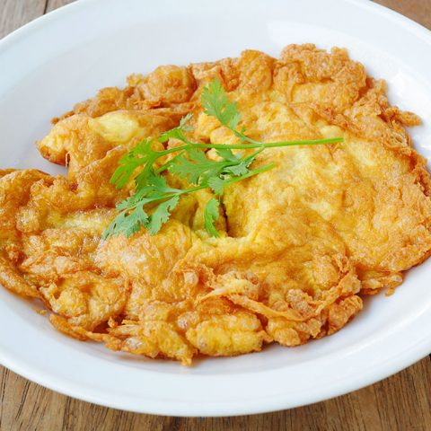 kai jeow thai omelet