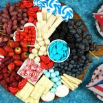 4th of July charcuterie board food platter