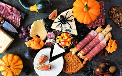Halloween Charcuterie Board: a boo-tiful food display