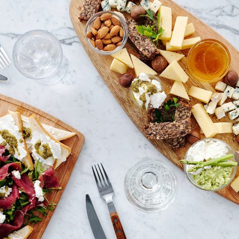 Mother's Day charcuterie board food platter