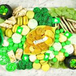 st. patrick's day charcuterie board food platter