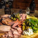 Father's Day charcuterie board food platter