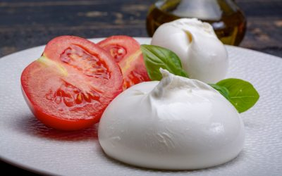 Burrata: an Italian cheese that literally bursts with goodness