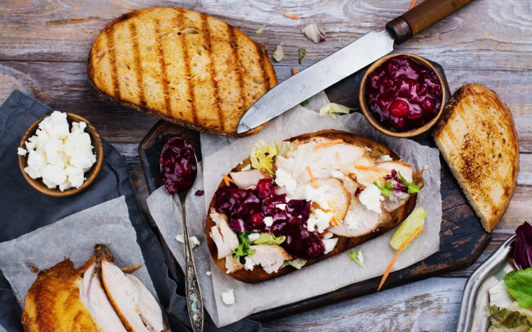 Turkey Cranberry Sandwich Variations: Thanksgiving leftovers perfected